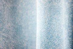 Ткань джинсовой ткани голубых джинсов с текстурой волны Стоковые Фото