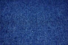 Ткань джинсовой ткани Стоковое Изображение RF