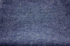 Ткань джинсовой ткани Стоковое Изображение