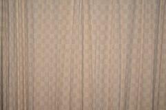 Ткань занавеса в спальне Стоковое Изображение