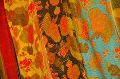 ткань затейливый Непал Стоковые Изображения RF