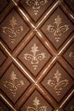ткань золота предпосылки Стоковая Фотография