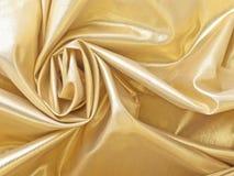 ткань золотистая Стоковая Фотография