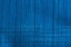 Ткань индиго Стоковые Фотографии RF