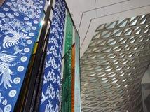 Ткань китайского стиля стоковая фотография rf
