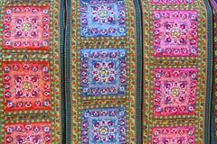 ткань китайской ткани предпосылки этническая Стоковая Фотография
