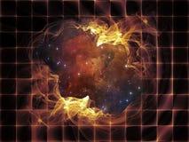 Ткань космоса иллюстрация вектора