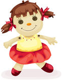 ткань куклы иллюстрация вектора