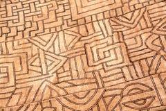 Ткань от Конго, Африки Стоковая Фотография RF