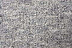 Ткань от хлопка, jersey, естественного, конца вверх Стоковая Фотография