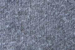 Ткань от хлопка, jersey, естественного, конца вверх Стоковые Изображения