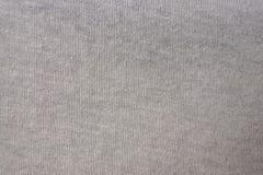 Ткань от хлопка, jersey, естественного, конца вверх Стоковая Фотография RF
