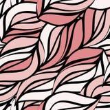Ткань печати крышки волны хода макроса текстуры ombre предпосылки зеленого цвета хода картины Hread шить свежая бежевая розовая иллюстрация штока