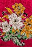 Ткань печати цветка иллюстрация штока