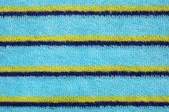 ткань предпосылки голубая текстурировала Стоковые Фотографии RF