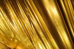 ткань предпосылки золотистая стоковое изображение rf