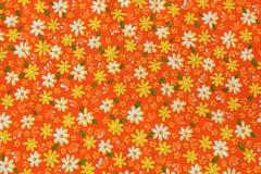 Ткань предпосылки флористическая Стоковая Фотография