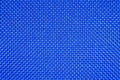 Ткань проверенная синью Стоковая Фотография RF