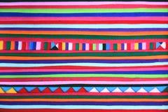 Ткань производит handmade предпосылку текстуры Стоковое Изображение