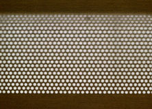 ткань продырявит текстура Стоковое фото RF