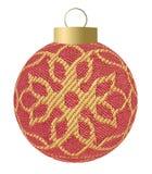 ткань рождества шарика Стоковое Изображение RF
