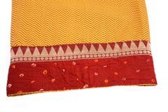 Ткань сари Стоковая Фотография RF
