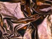 Ткань сатинировки золота Стоковые Изображения