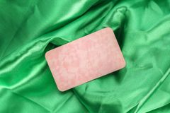 Ткань сатинировки Стоковая Фотография RF
