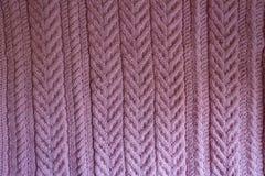 Ткань связанная пинком с несколько pleats стоковое фото