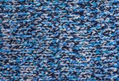 Ткань связанная текстурой шерстяная Стоковые Изображения RF