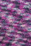 Ткань связанная текстурой шерстяная Стоковое Фото