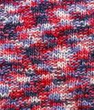 Ткань связанная текстурой шерстяная Стоковое Изображение