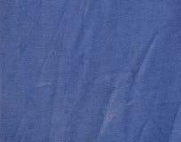 Ткань сини военно-морского флота с pleats Стоковое Изображение