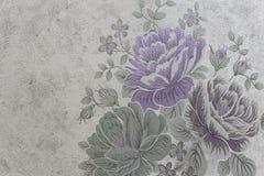 Ткань стены пиона, саман rgb Стоковое Фото