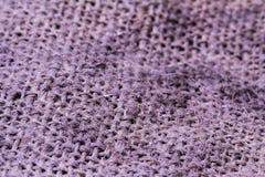 Ткань структуры текстуры хлопка Брайна стоковая фотография
