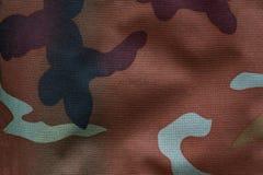 Ткань с воинской расцветкой для предпосылки Хаки, камуфлирование Стоковые Изображения RF