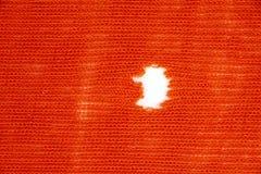 Ткань с отверстием Стоковые Фотографии RF