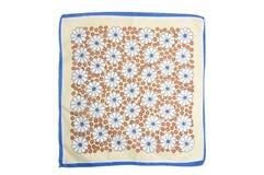 Ткань с цветками Стоковые Фото