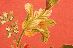 ткань флористическая Стоковая Фотография