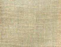 Ткань холста текстуры бежевая тканье предпосылки естественное Стоковое Фото