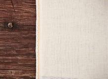 Ткань холста текстуры Стоковые Фотографии RF
