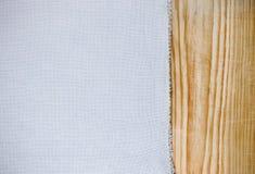 Ткань холста текстуры Стоковое Изображение