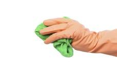 ткань чистки Стоковое Изображение