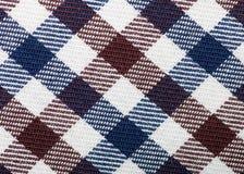 Ткань шотландки Стоковые Изображения RF