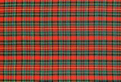 Ткань шотландки Стоковое фото RF