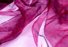 ткань burgundy отвесная Стоковое Изображение RF