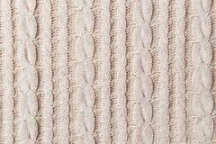 Ткань Knit Стоковое Фото