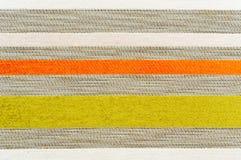 ткань striped Стоковые Изображения RF
