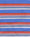 ткань stripes текстура Стоковые Фотографии RF