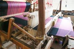 Ткань Weave или хлопка weave стоковое изображение